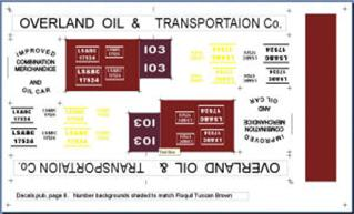 Decal Overland Oil B