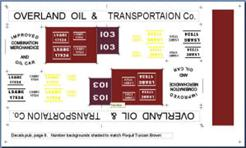 Decal Overland Oil