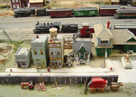 Looking North at Bobston station. This is the East terminal for the North River and the receiving area for Timberly, the logging camp.