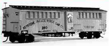 Prize winning Scratch-built model of a horse transport car